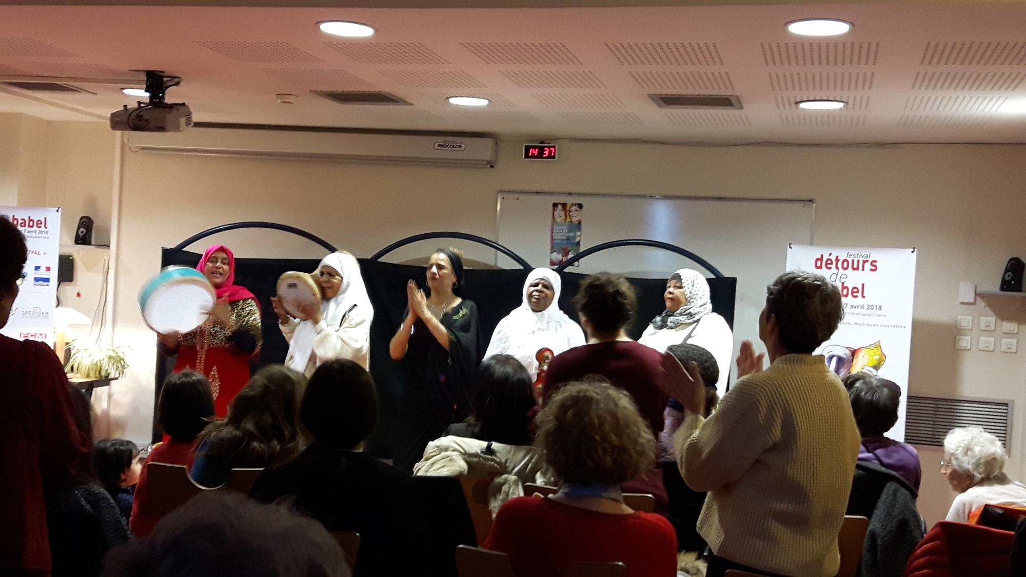 Souad Asla et le groupe Lemma : l'After
