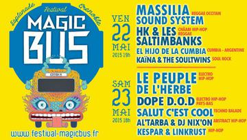 FESTIVAL MAGIC BUS – 22 ET 23 MAI A L'ESPLANADE DE GRENOBLE