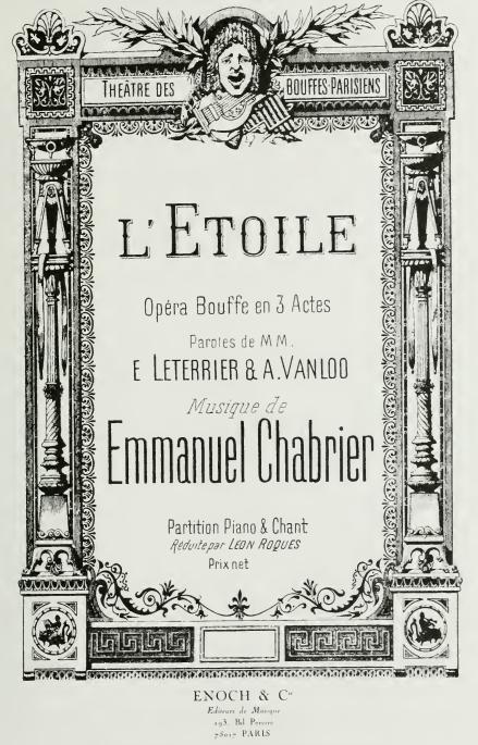 L'Etoile - Emmanuel Chabrier