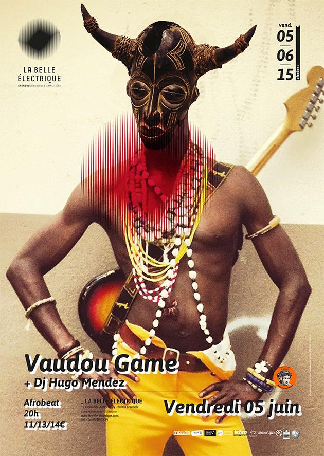 VAUDOU GAME «APIAFO», UN ALBUM ET UN CONCERT CONSEILLES PAR BMOL ! Le 5 juin à La Belle Electrique