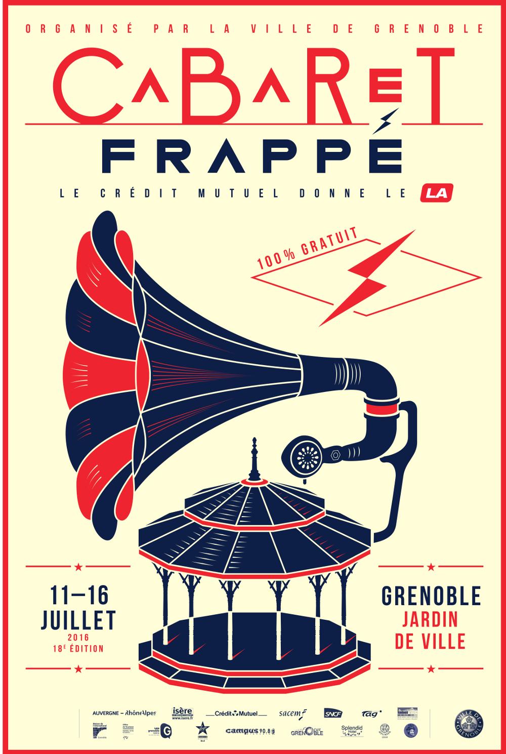 Cabaret Frappé, un été à Grenoble