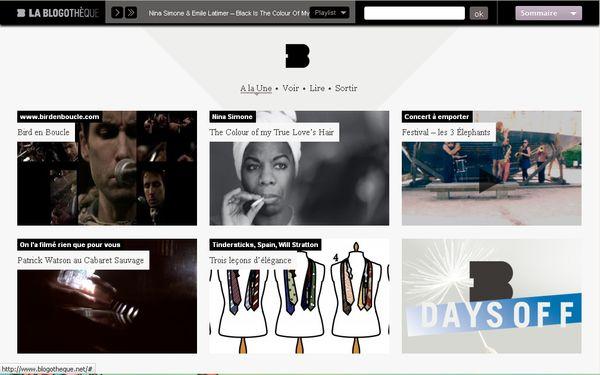 La blogothèque : site dédié aux musiques actuelles