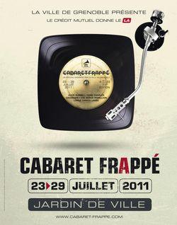 Cabaret Frappé = Du 23 au 29 juillet au Jardin de Ville