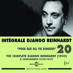 Intégrale DJANGO REINHARDT vol.20 : Pour que ma vie demeure