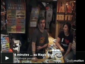 4 MINUTES … AU MAGIC BUS