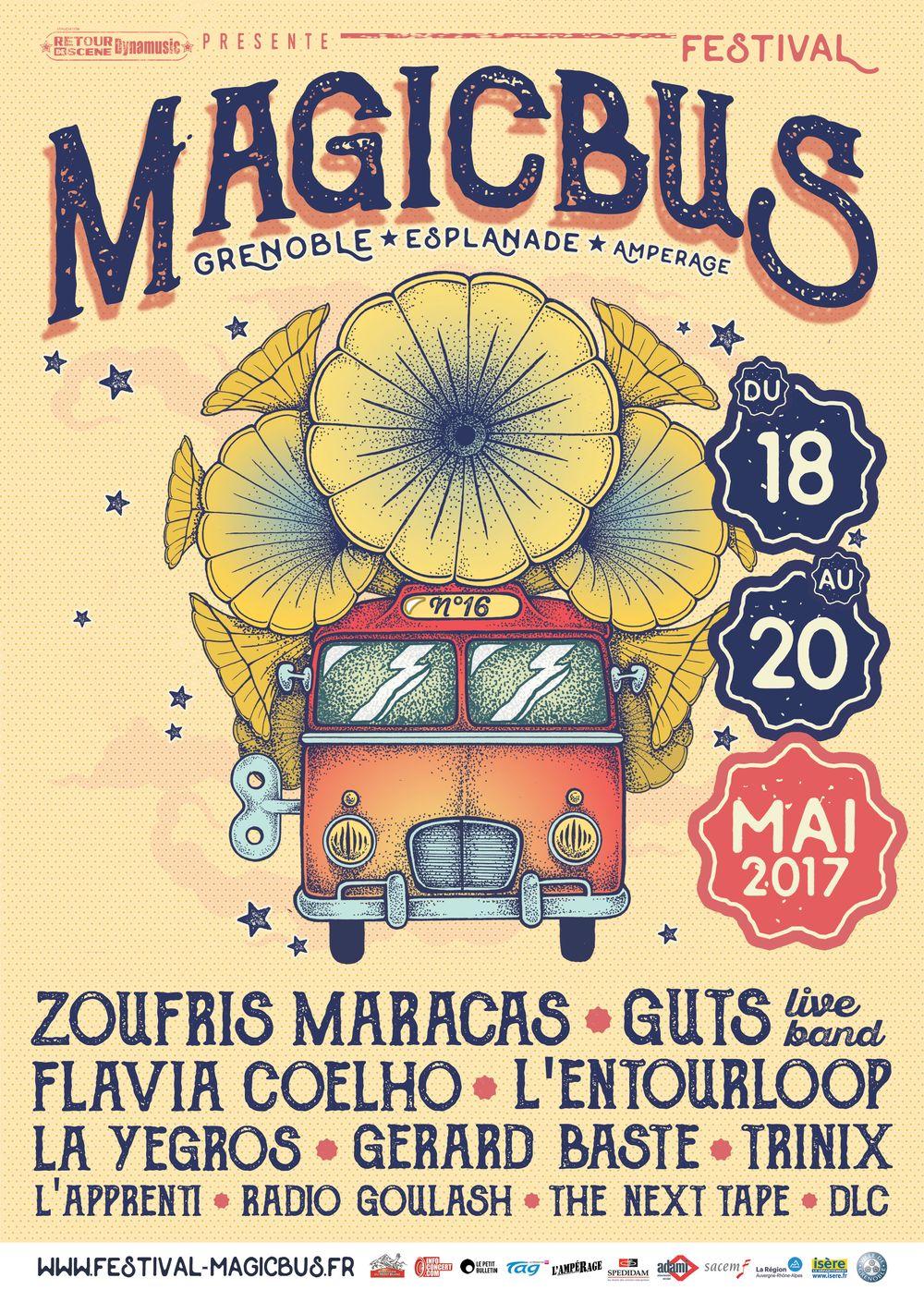 LE FESTIVAL MAGIC BUS FAIT ESCALE DU 18 AU 20 MAI