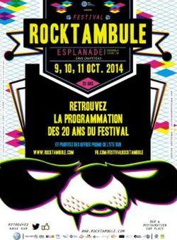 Rocktambule 2014, un compte rendu d'équipe