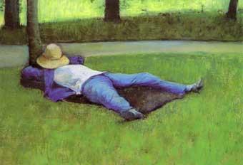 Gustave Caillebotte (1848-1894) - Le petit somme