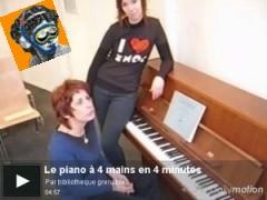 LE PIANO A 4 MAINS EN 4 MINUTES