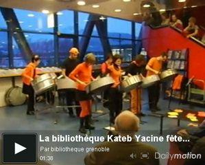 Anniversaire en Musique à la bibliothèque Kateb Yacine